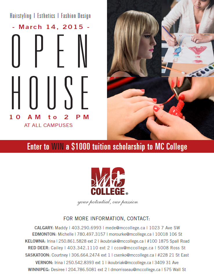 open house poster 2015